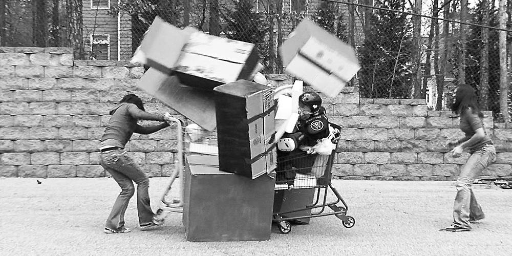 Safe Stunt - Shopping Cart Joust